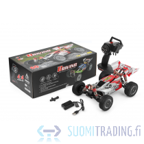WL Hobby Buggy 1:14 scale 4WD 2.4G 60km/h punainen RC-auto